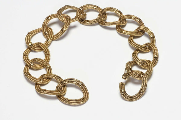CHANEL Paris 1996 CC Woven Chain Convertible Necklace