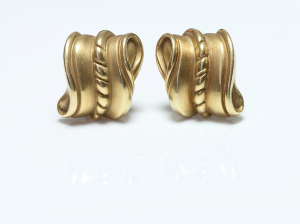 Barry Kieselstein-Cord Gold Earrings