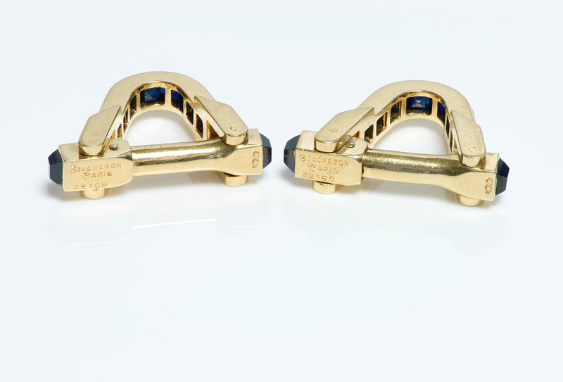 Boucheron Gold Cufflinks