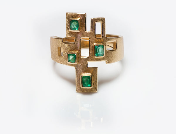 Burle Marx Emerald Ring