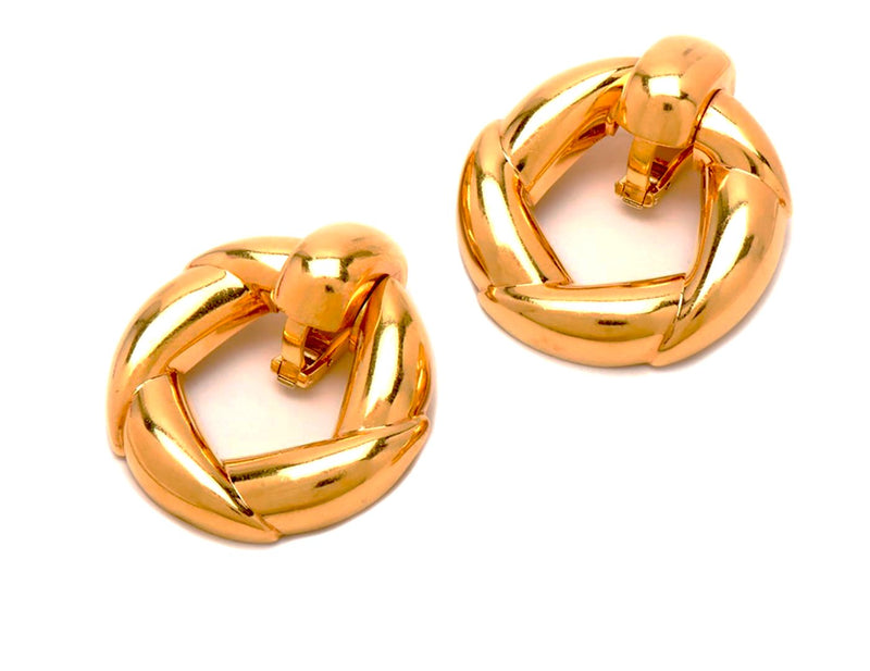Vintage Cartier Door-Knocker Earrings