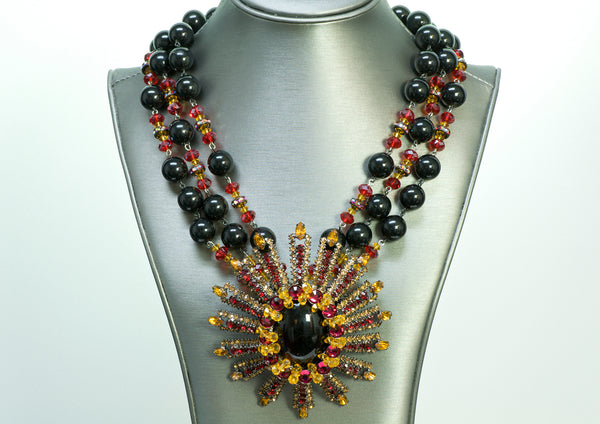 Lawrence Vrba Necklace Earrings Set