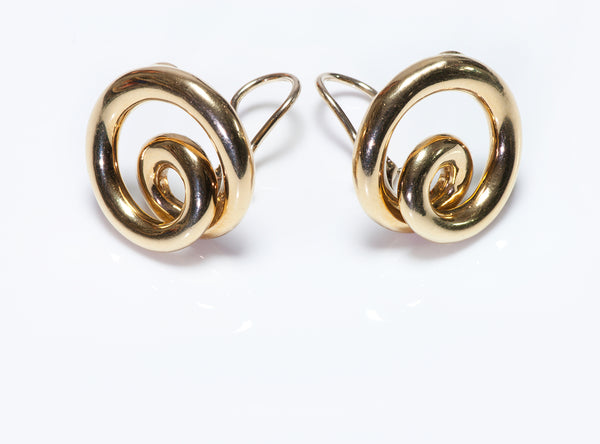 Angela Cummings 18k Gold Earrings