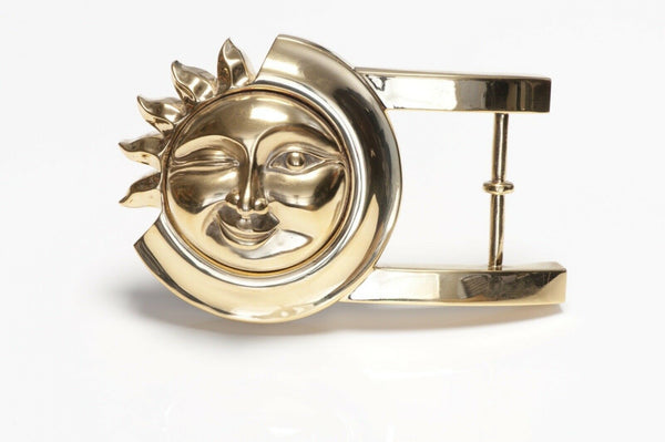 Vintage Barry Kieselstein-Cord Sterling Silver Sun Belt Buckle