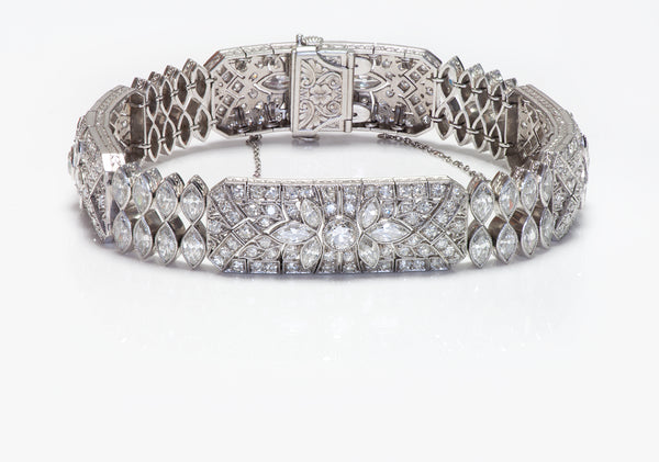 S. Kind & Sons Platinum Diamond Bracelet