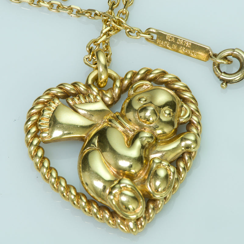 Van Cleef & Arpels 18K Yellow Gold Vintage Necklace