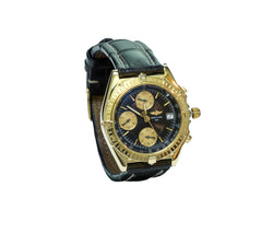 Breitling Chronomat Vitesse K13050.1 18K Yellow Gold Automatic Men's Watch