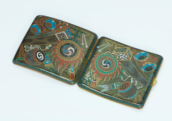 Antique Cloisonne Enamel Case
