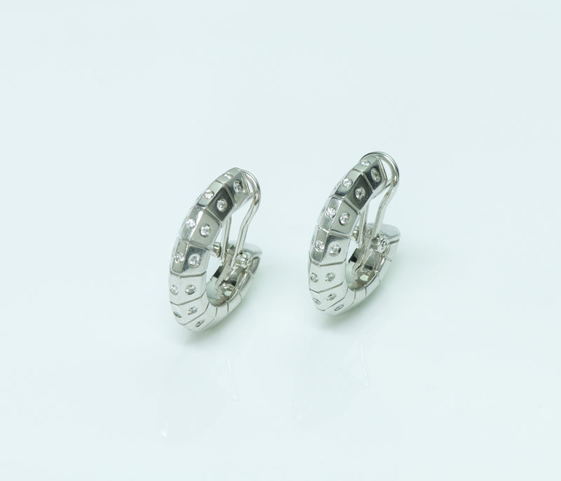 Illario 18K Gold Diamond Earrings