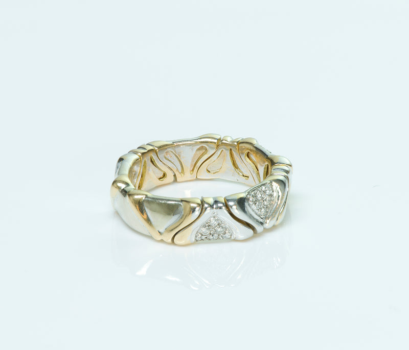 Marina B Diamond 18K Gold Ring