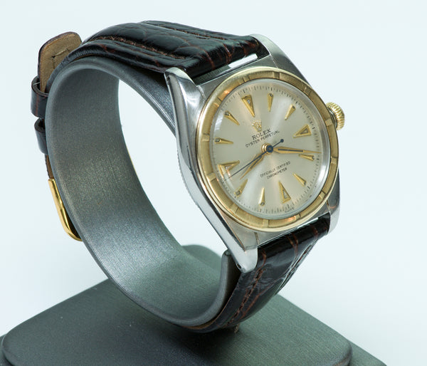 Rolex Oyster Perpetual Chronometer 5015 Bubble Back Vintage Watch