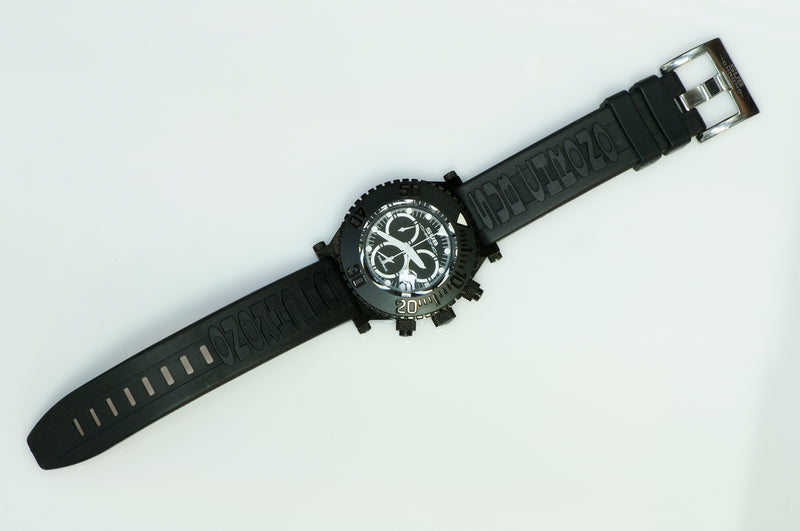 Sub Chrono Diving Watch XL Black
