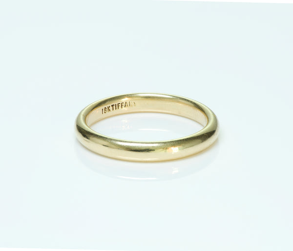 Tiffany & Co. 18K Yellow Gold Wedding Band