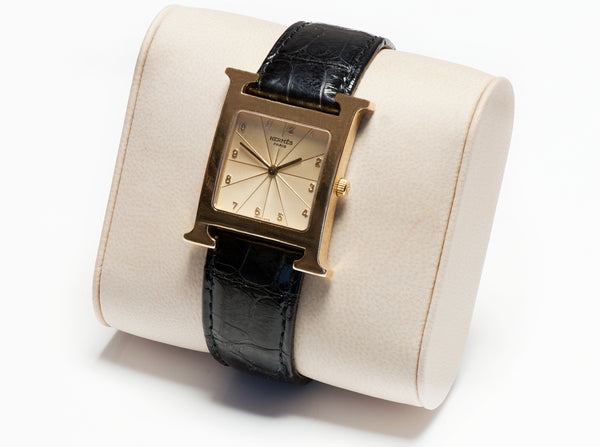 Hermes Heure H Gold Watch HH1.785