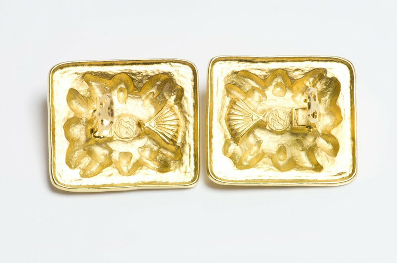 Karl Lagerfeld Gold Plated Earrings