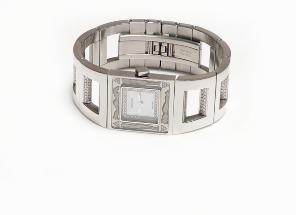 Lalique Bacchantes Diamond Stainless Steel Watch