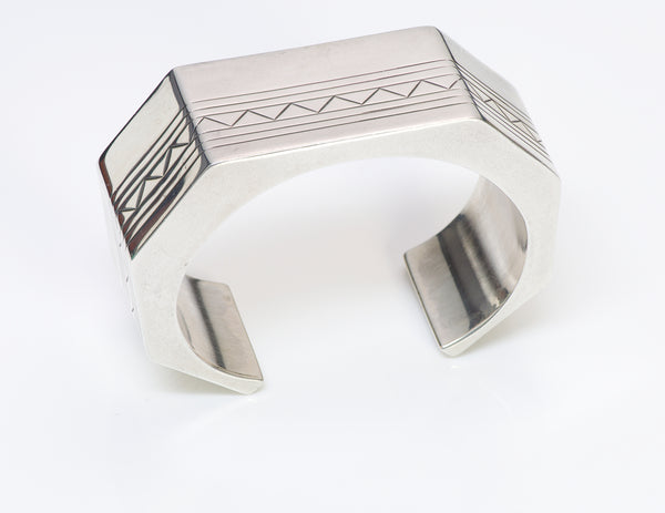 Sam W. Graves N Sterling Cuff Bracelet