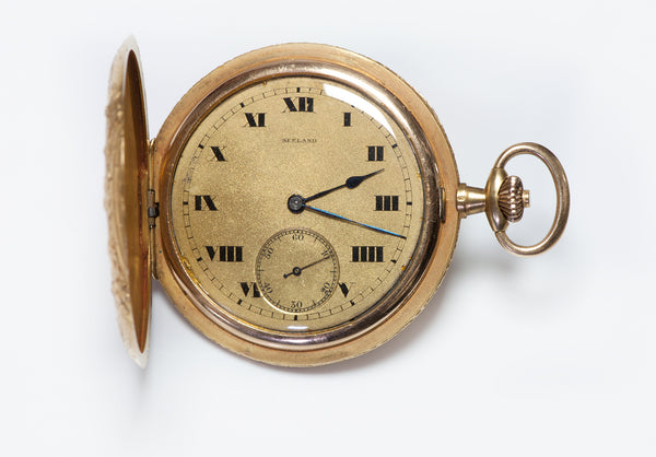 Sealand Antique Gold Pocket Watch