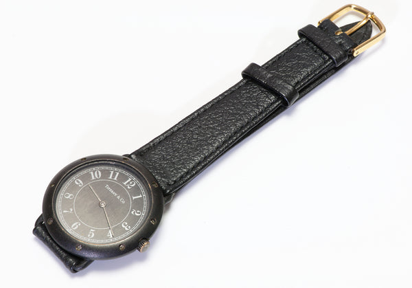 Tiffany & Co. Black Matte Wristwatch PVD