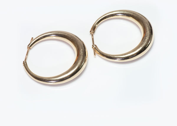 Tiffany & Co. Gold Hoop Earrings