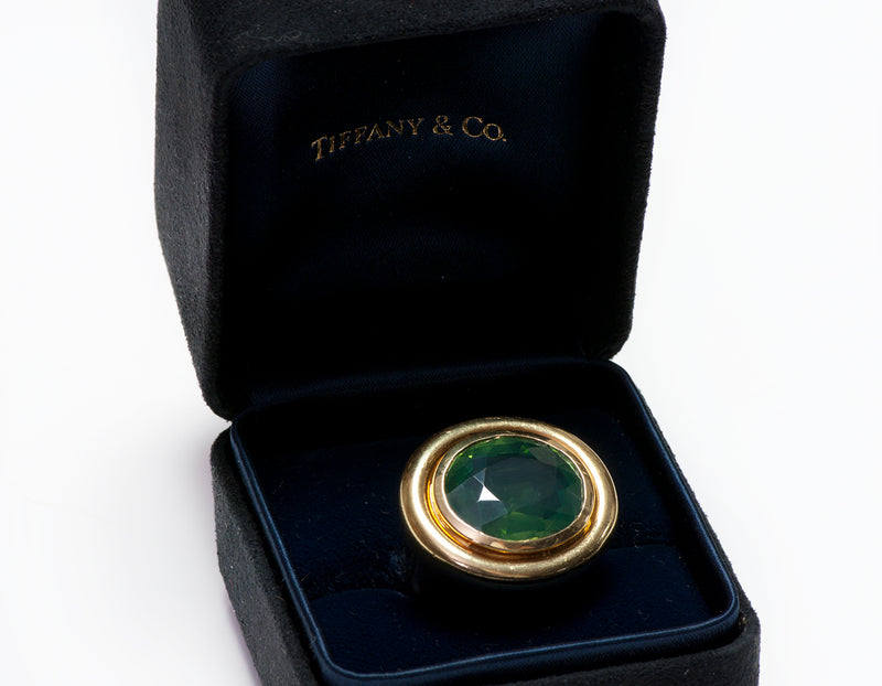 Tiffany & Co. Paloma Picasso 18K Gold Peridot Ring