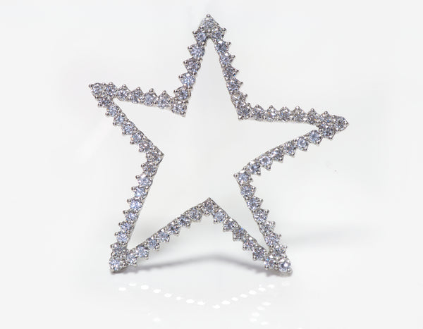 Tiffany & Co. Platinum Diamond Star Pendant