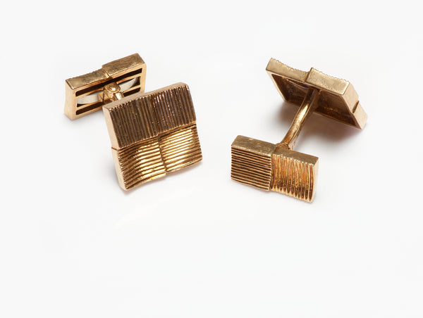 Van Cleef & Arpels Gold Cufflinks 18k