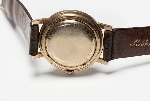 Vintage Mathey-Tissot Men's Gold Automatic Watch vtg