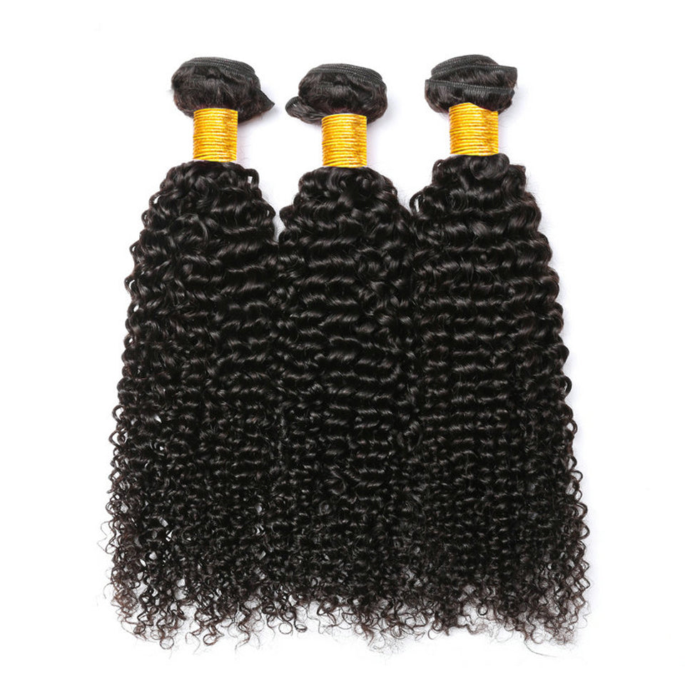 virgin peruvian jerry curly 3 bundles with 13*4/13*6 Lace Frontal Closure