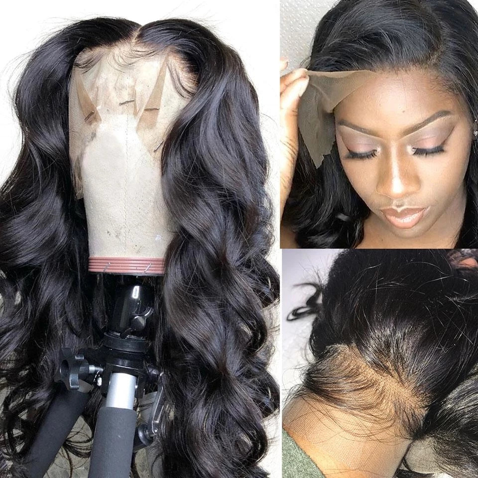 Preplucked Best Virgin Human Hair Full Lace Wig, Full Textures