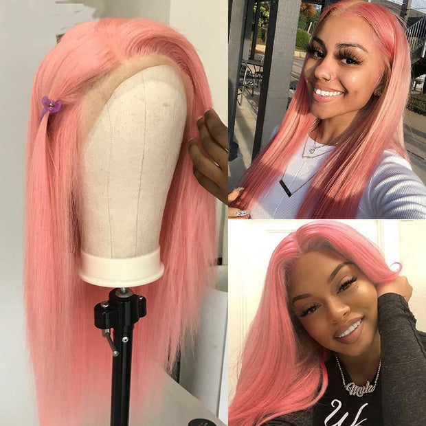 DIY Color Lace Human Hair Wig, Frontal human hair wigs, Full Lace Wig