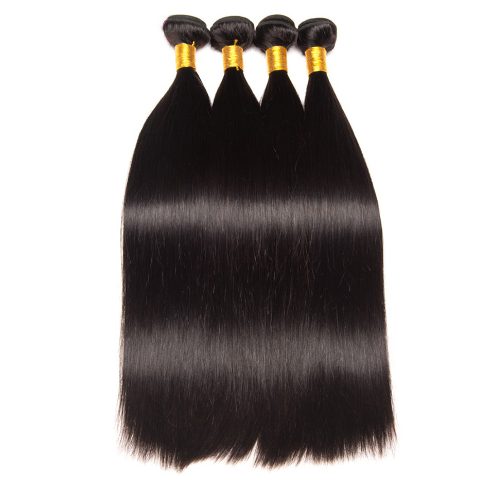 4 bundles  virgin malaysian straight hair, 8-30inch, 100% virgin human hair weaves