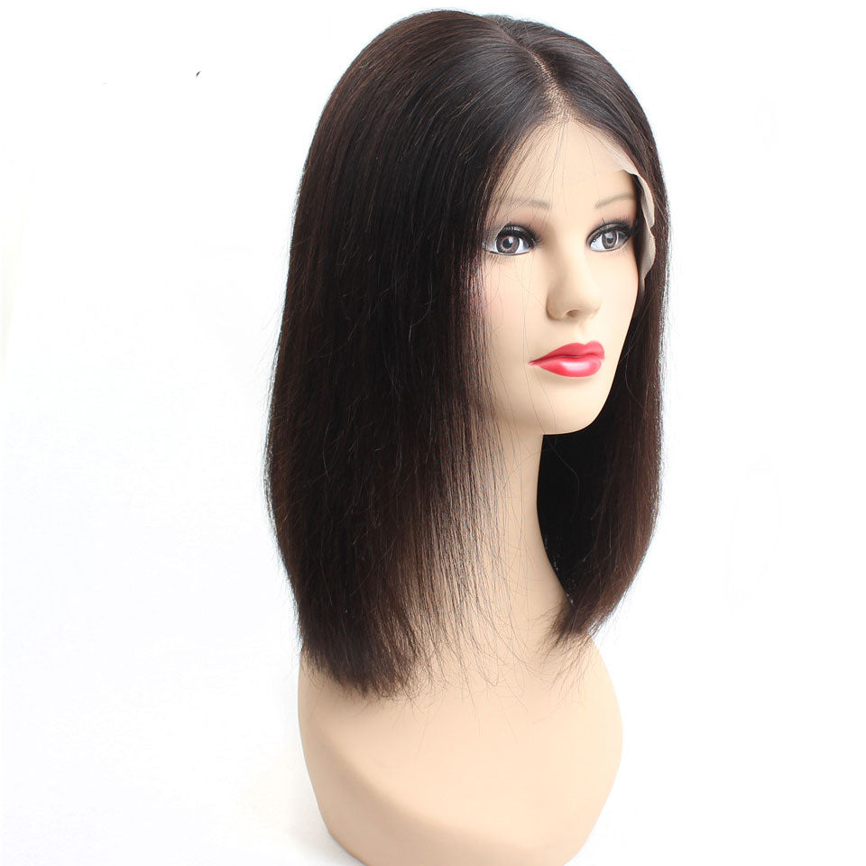 13*6 Short Bob Straight Wig,Glueless Lace Front Wigs,150%/180% Density