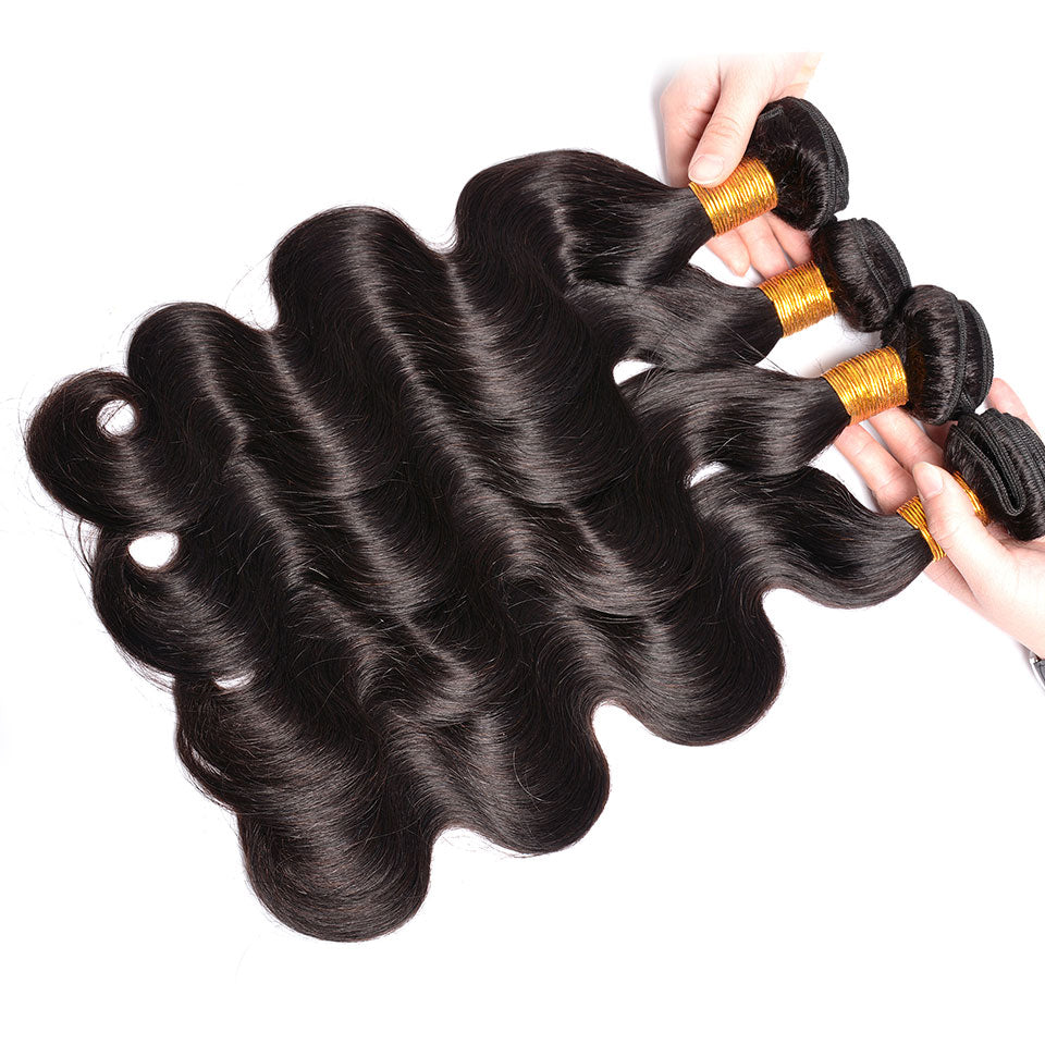 virgin indian hair body wave 4 pcs/lot,  8-30inch, 100% virgin human hair weaves