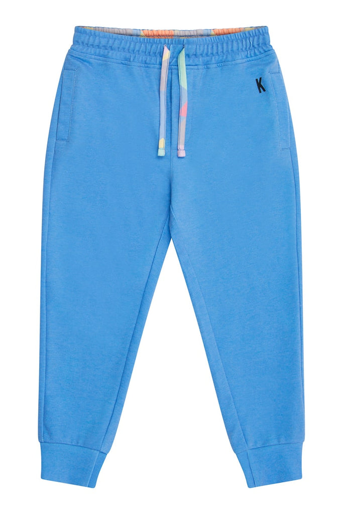 Boys Jersey Relax Fit Jogger - Blue
