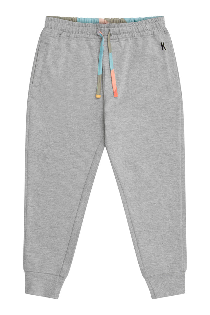 Jersey Relax Fit Jogger - Grey