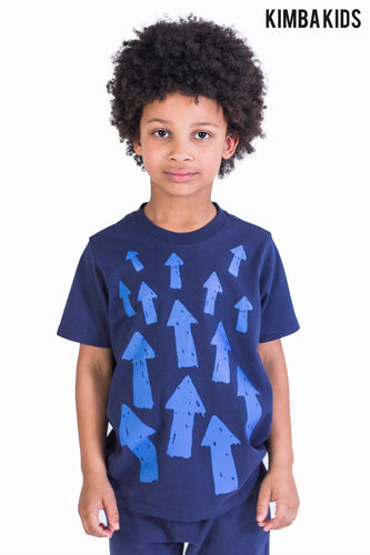 Kimba Kids by Kimberley Walsh Navy Printed T-Shirt