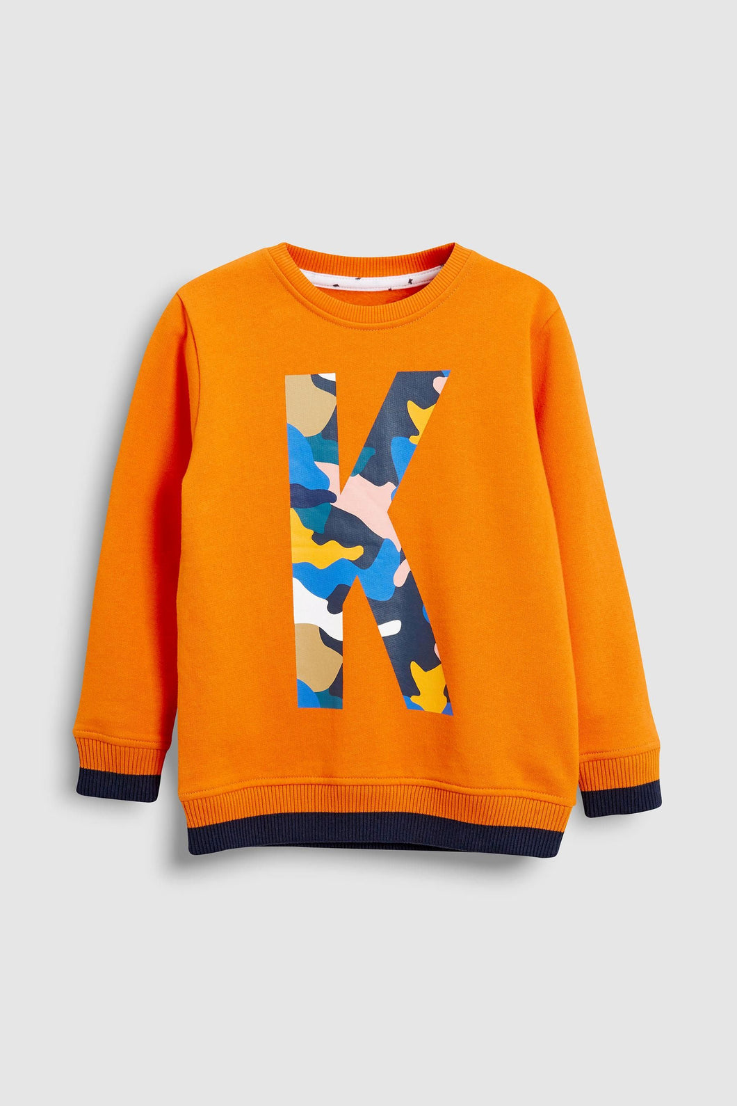 Kimba Kids by Kimberley Walsh Orange K Logo Sweatshirt