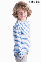 Kimba Kids by Kimberley Walsh Blue All Over Print Long Sleeve Top
