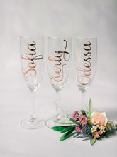 Load image into Gallery viewer, Personalised Champagne Flute