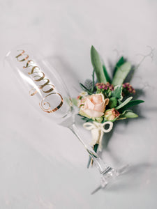 Personalised Champagne Flute