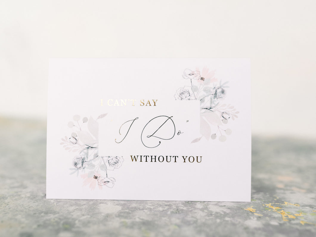 Greeting Card | I can't say