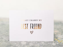 Load image into Gallery viewer, Greeting Card | Today I marry my best friend