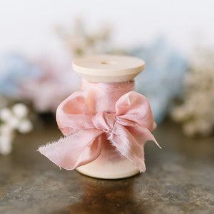 Pure Silk Ribbon | Palace Rose