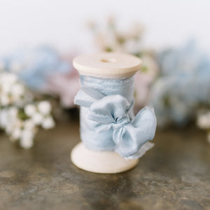 Pure Silk Ribbon | Bluebell