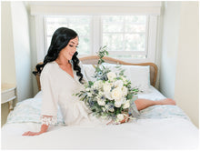 Load image into Gallery viewer, White Bridal Robe  !!!SALE!!!