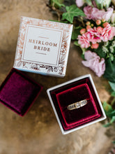 Load image into Gallery viewer, SALE! Trio of Velvet Ring Boxes