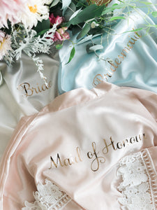Personalised Bridal Robe