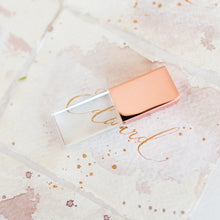 Load image into Gallery viewer, Rose Gold 32GB USB