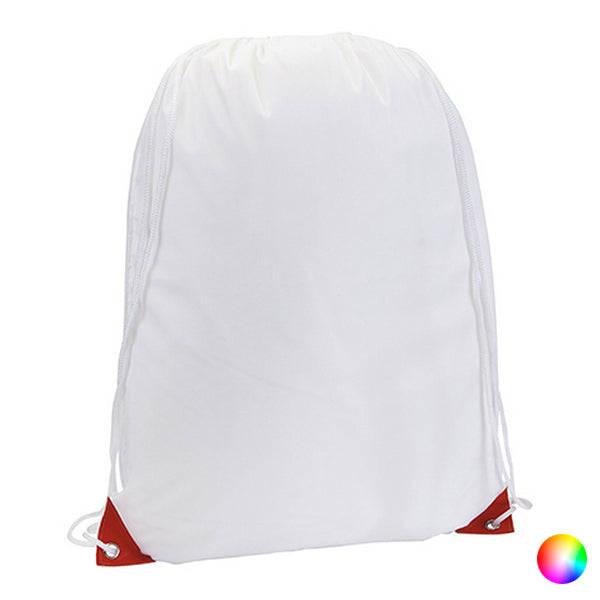 White Backpack with Strings - TestYourWill